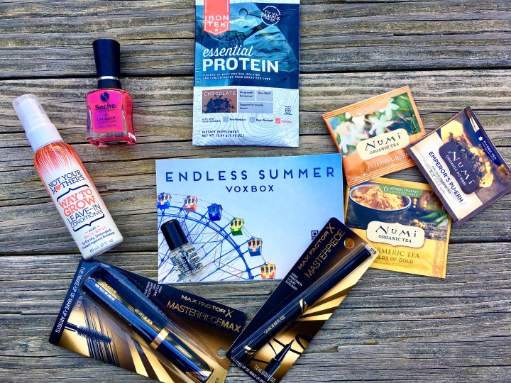 Endless Summer – 7 Products in my VoxBox
